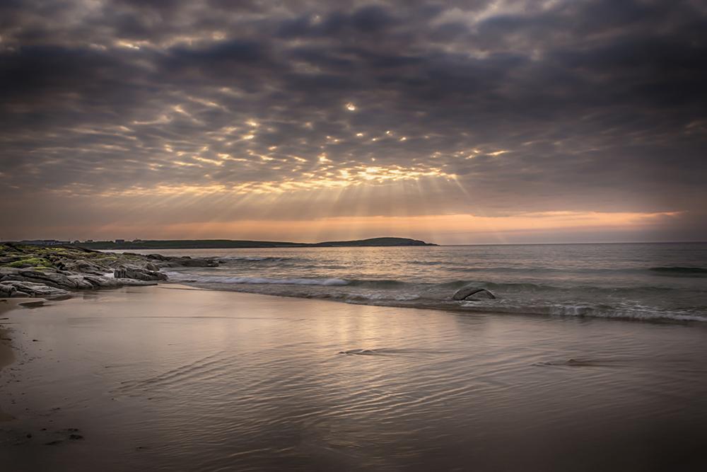 Fanad Beach at Sunset