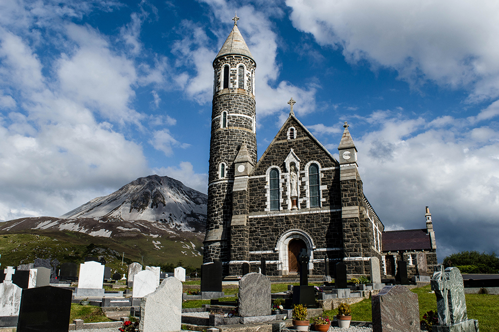 Chapel and Errigal
